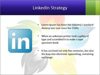 Fire flower PowerPoint Template - Slide 12