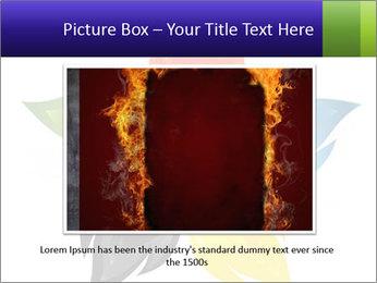 Fire flower PowerPoint Template - Slide 16