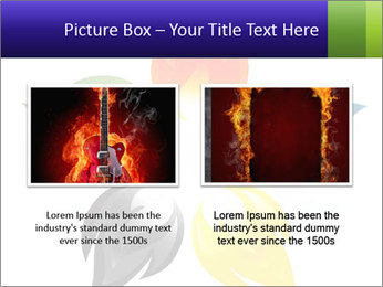 Fire flower PowerPoint Template - Slide 18