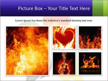 Fire flower PowerPoint Template - Slide 19