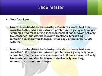 Fire flower PowerPoint Template - Slide 2