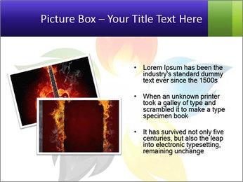 Fire flower PowerPoint Template - Slide 20