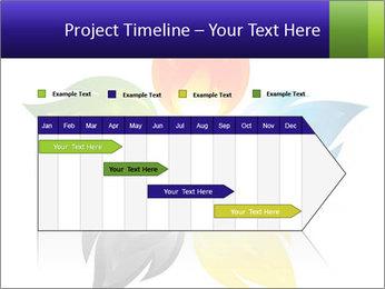 Fire flower PowerPoint Template - Slide 25