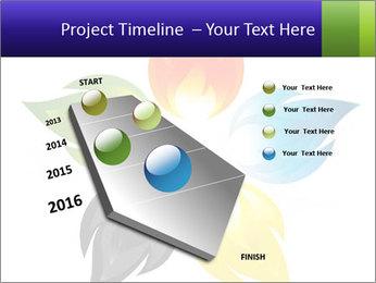 Fire flower PowerPoint Template - Slide 26