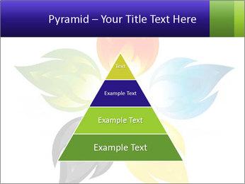 Fire flower PowerPoint Template - Slide 30