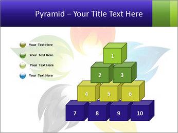 Fire flower PowerPoint Template - Slide 31