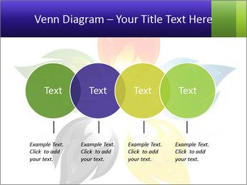 Fire flower PowerPoint Template - Slide 32