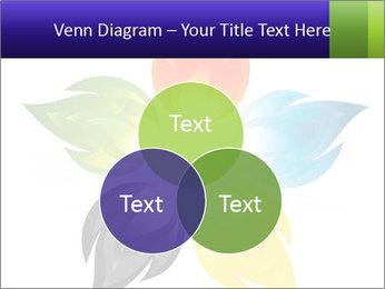 Fire flower PowerPoint Template - Slide 33