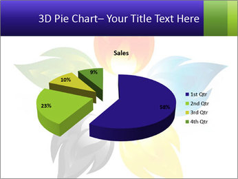 Fire flower PowerPoint Template - Slide 35
