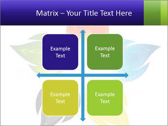 Fire flower PowerPoint Template - Slide 37