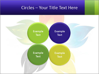 Fire flower PowerPoint Template - Slide 38