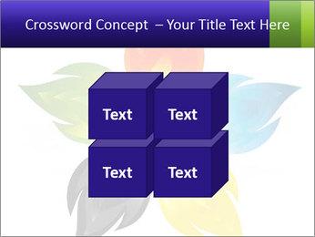 Fire flower PowerPoint Template - Slide 39