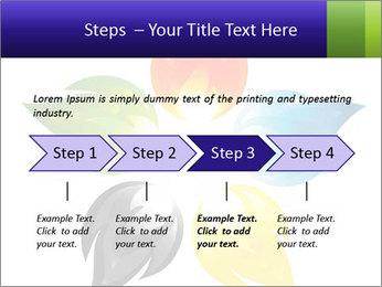 Fire flower PowerPoint Template - Slide 4
