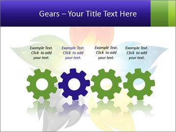 Fire flower PowerPoint Template - Slide 48