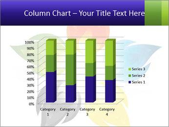 Fire flower PowerPoint Template - Slide 50