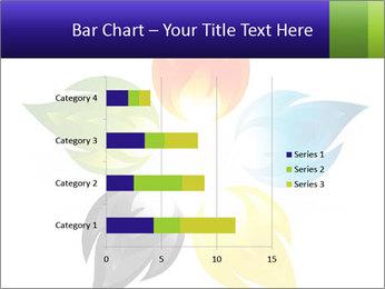 Fire flower PowerPoint Template - Slide 52