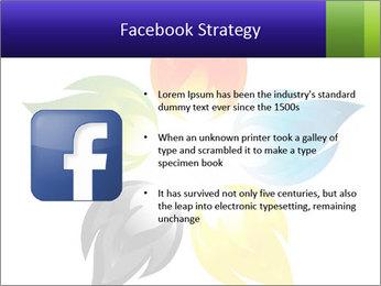 Fire flower PowerPoint Template - Slide 6