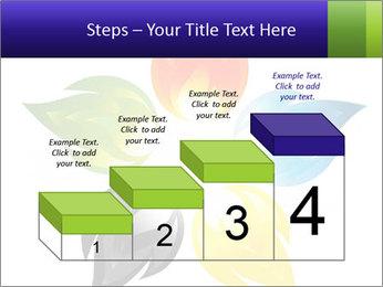 Fire flower PowerPoint Template - Slide 64