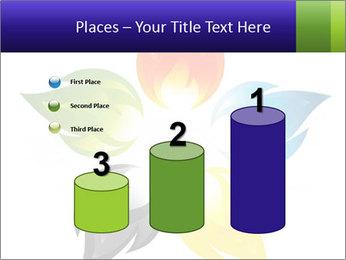 Fire flower PowerPoint Template - Slide 65
