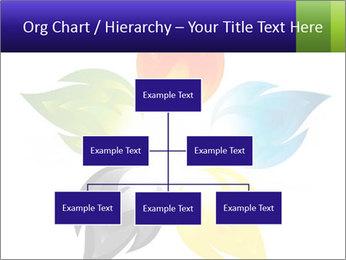 Fire flower PowerPoint Template - Slide 66