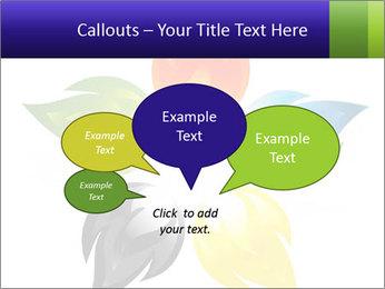 Fire flower PowerPoint Template - Slide 73