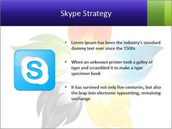Fire flower PowerPoint Template - Slide 8