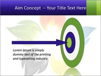 Fire flower PowerPoint Template - Slide 83