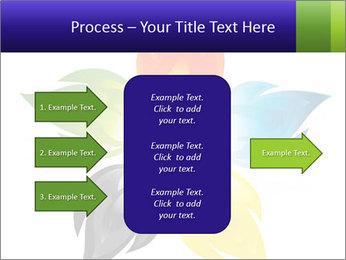 Fire flower PowerPoint Template - Slide 85