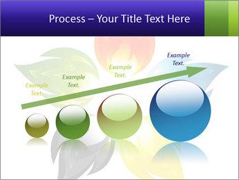 Fire flower PowerPoint Template - Slide 87