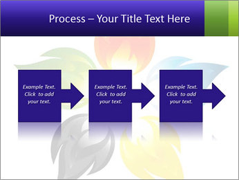 Fire flower PowerPoint Template - Slide 88