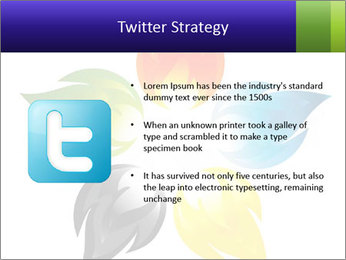 Fire flower PowerPoint Template - Slide 9