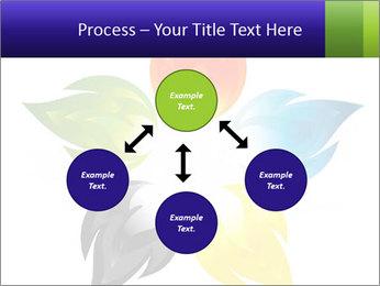 Fire flower PowerPoint Template - Slide 91