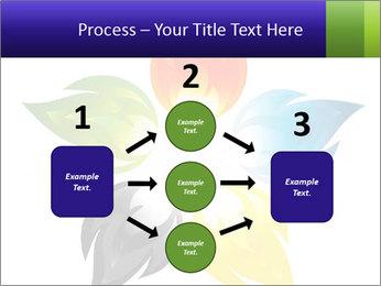Fire flower PowerPoint Template - Slide 92
