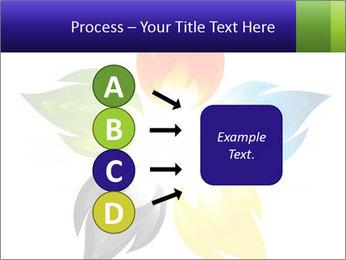 Fire flower PowerPoint Template - Slide 94