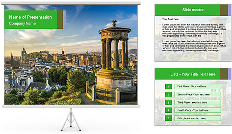 Beautiful architecture PowerPoint Template