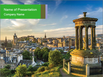 Beautiful architecture PowerPoint Template - Slide 1