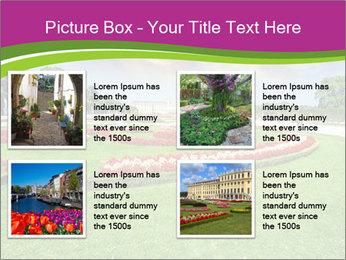 Gardens in Vienna PowerPoint Templates - Slide 14