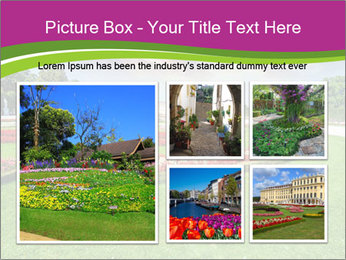 Gardens in Vienna PowerPoint Templates - Slide 19
