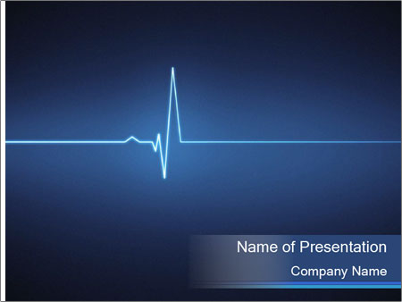 Pulse effect PowerPoint Template