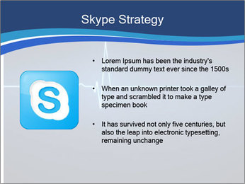 Pulse effect PowerPoint Template - Slide 8