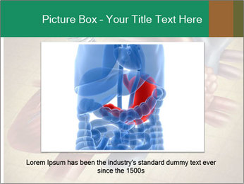 Drawing organs PowerPoint Template - Slide 16