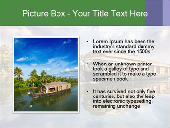 Houseboat PowerPoint Templates - Slide 13