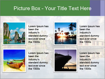 Houseboat PowerPoint Templates - Slide 14