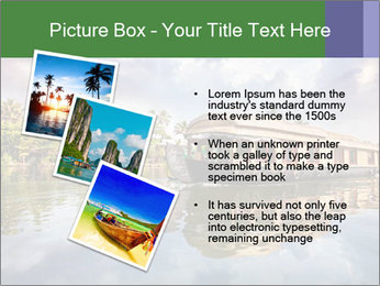 Houseboat PowerPoint Templates - Slide 17