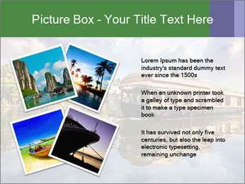 Houseboat PowerPoint Templates - Slide 23