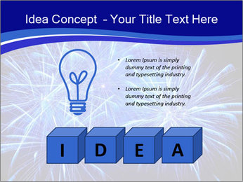 Firework PowerPoint Template - Slide 80
