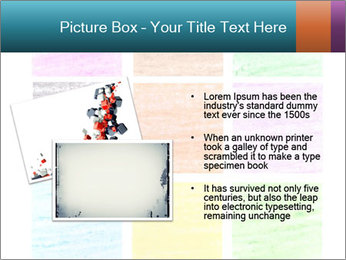 Multicolored squares PowerPoint Template - Slide 20