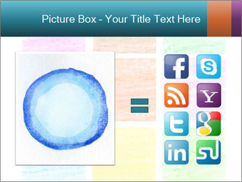 Multicolored squares PowerPoint Template - Slide 21