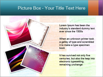 Multicolored squares PowerPoint Template - Slide 23