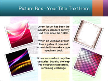 Multicolored squares PowerPoint Template - Slide 24